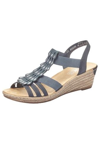 Rieker Sandalette, mit Gummizüge, zum Schlupfen kaufen