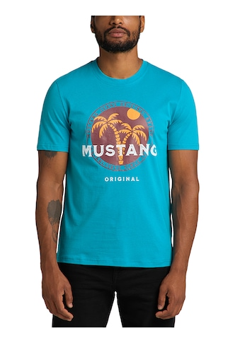 MUSTANG T-Shirt »Alex C Print«, farbiger Print kaufen
