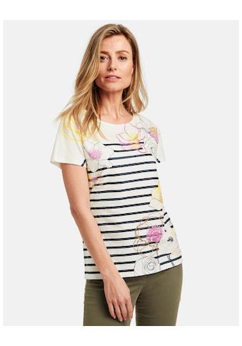 GERRY WEBER T - Shirt 1/2 Arm »Shirt mit Mustermix organic cotton« kaufen