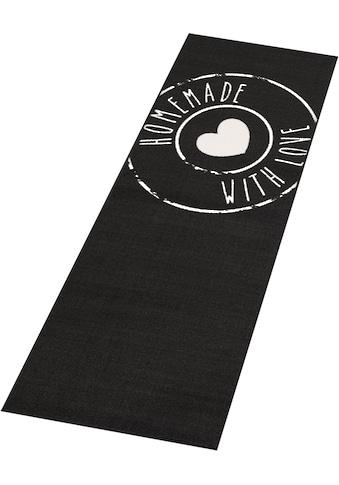 Zala Living Küchenläufer »Homemade Love«, rechteckig, 8 mm Höhe, Kurzflor, rutschhemmend kaufen