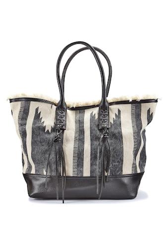 LASCANA Umhängetasche, Strandtasche im Ethno-Look kaufen