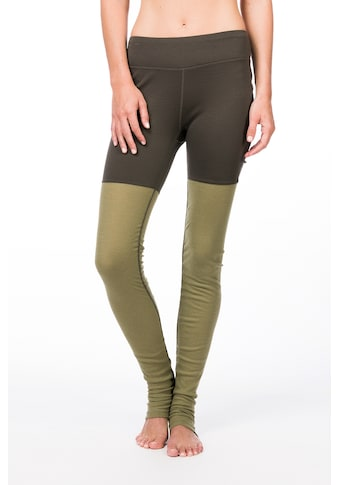 SUPER.NATURAL Funktionstights »W MOTION HEAP TIGHT«, perfekter Merino-Materialmix kaufen
