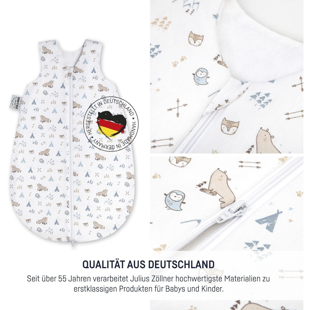 Julius Zöllner Babyschlafsack »Nordic Bear«, (1 tlg.)