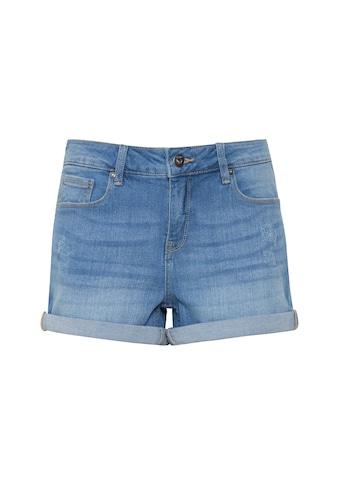 OXMO Jeansshorts »Andreja«, kurze Hose mit Destroyed-Effekten kaufen