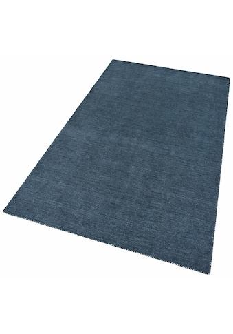 Theko Exklusiv Wollteppich »Gabbeh uni«, rechteckig, 15 mm Höhe, reine Wolle, Wohnzimmer kaufen