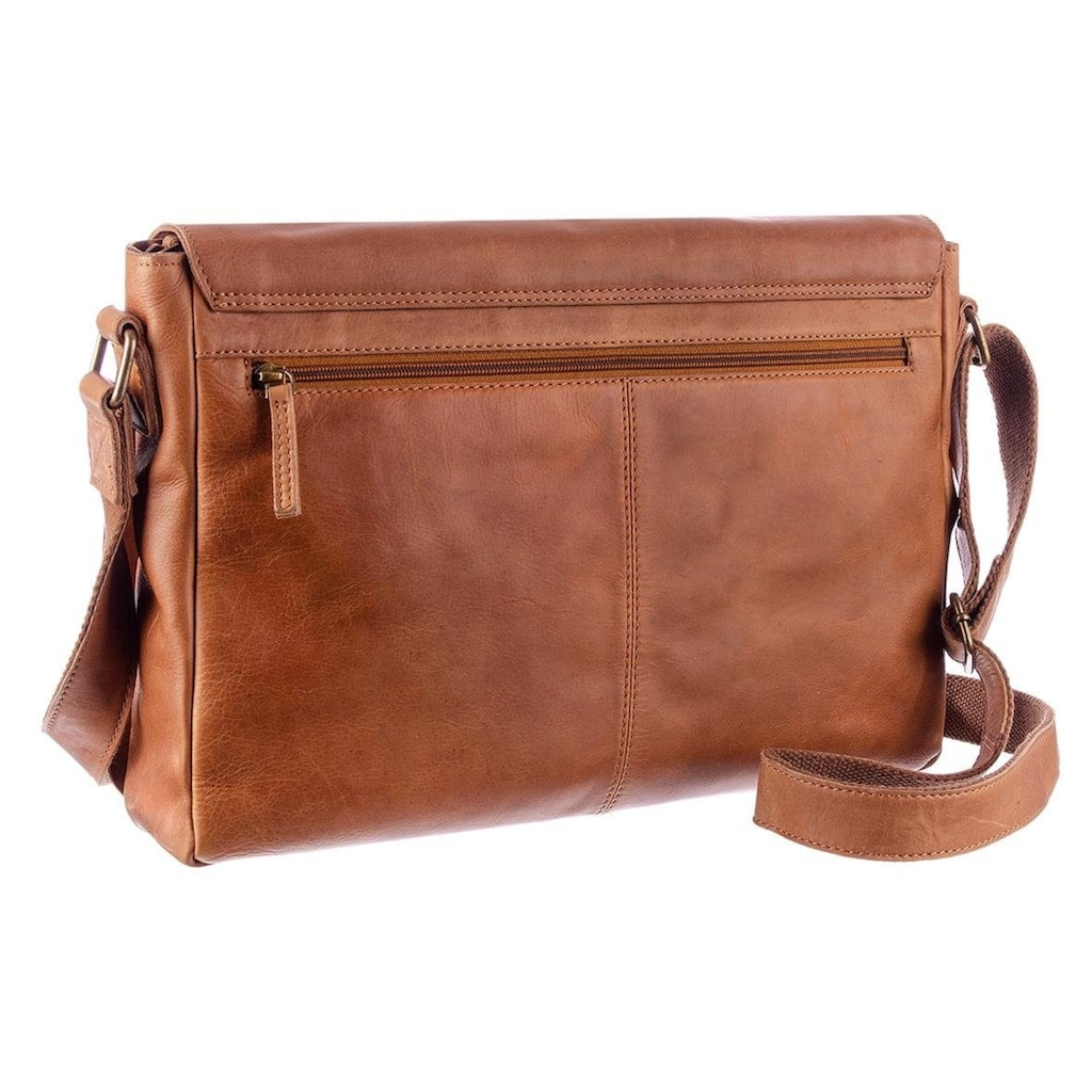 GreenLand Nature Messenger Bag, mit RFID-Technologie