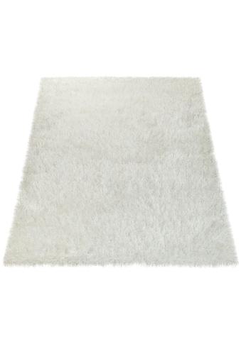 Paco Home Hochflor-Teppich »Glamour 300«, rechteckig, 70 mm Höhe, Shaggy mit weichem... kaufen