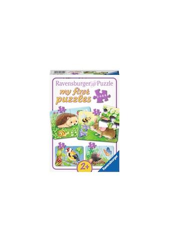 Ravensburger Puzzle »Süsse Gartenbewohner« kaufen