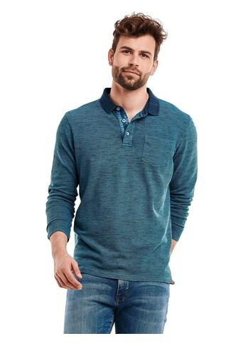 Engbers meliertes Poloshirt kaufen
