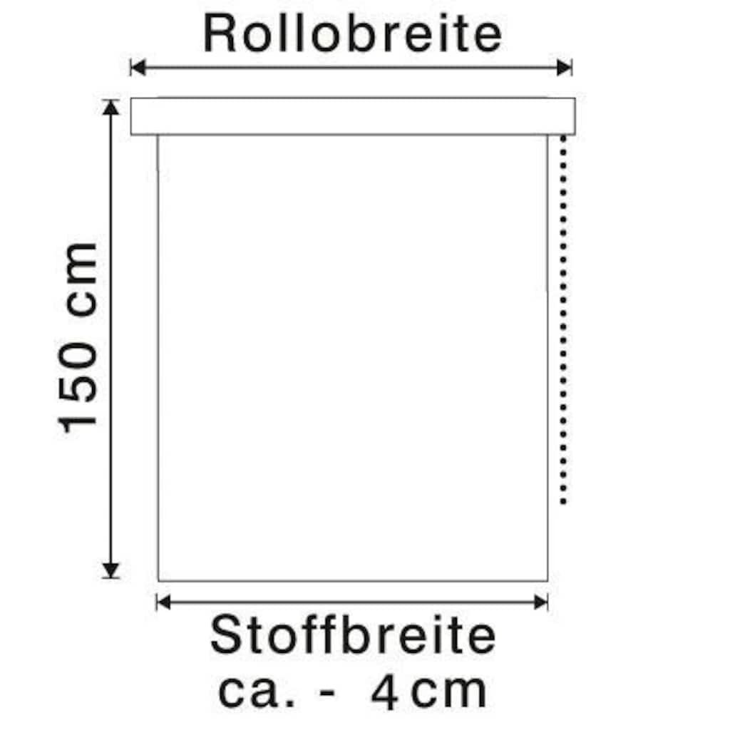 my home Seitenzugrollo »Uni Klemmrollo«, Lichtschutz, ohne Bohren, freihängend