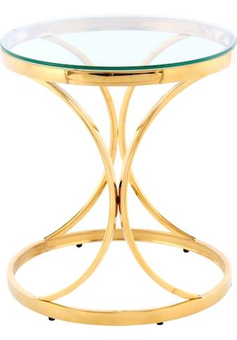 Kayoom Beistelltisch »Beistelltisch Weyda 225«, filigranes Design kaufen