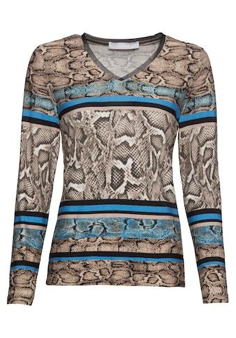 bianca Print-Shirt »ENEA«, im coolen Snake Design mit V-Ausschnitt kaufen
