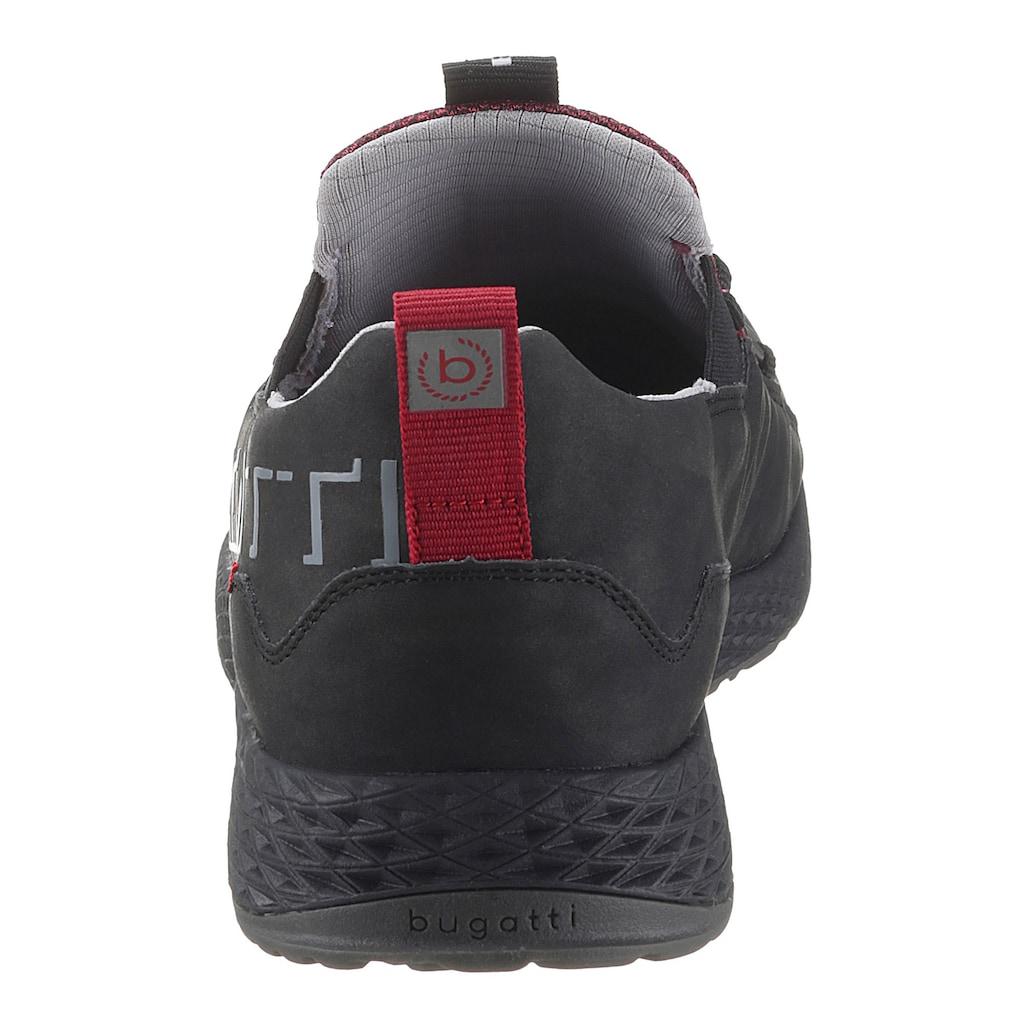 bugatti Slip-On Sneaker »JAVA«, mit Schnellverschluss