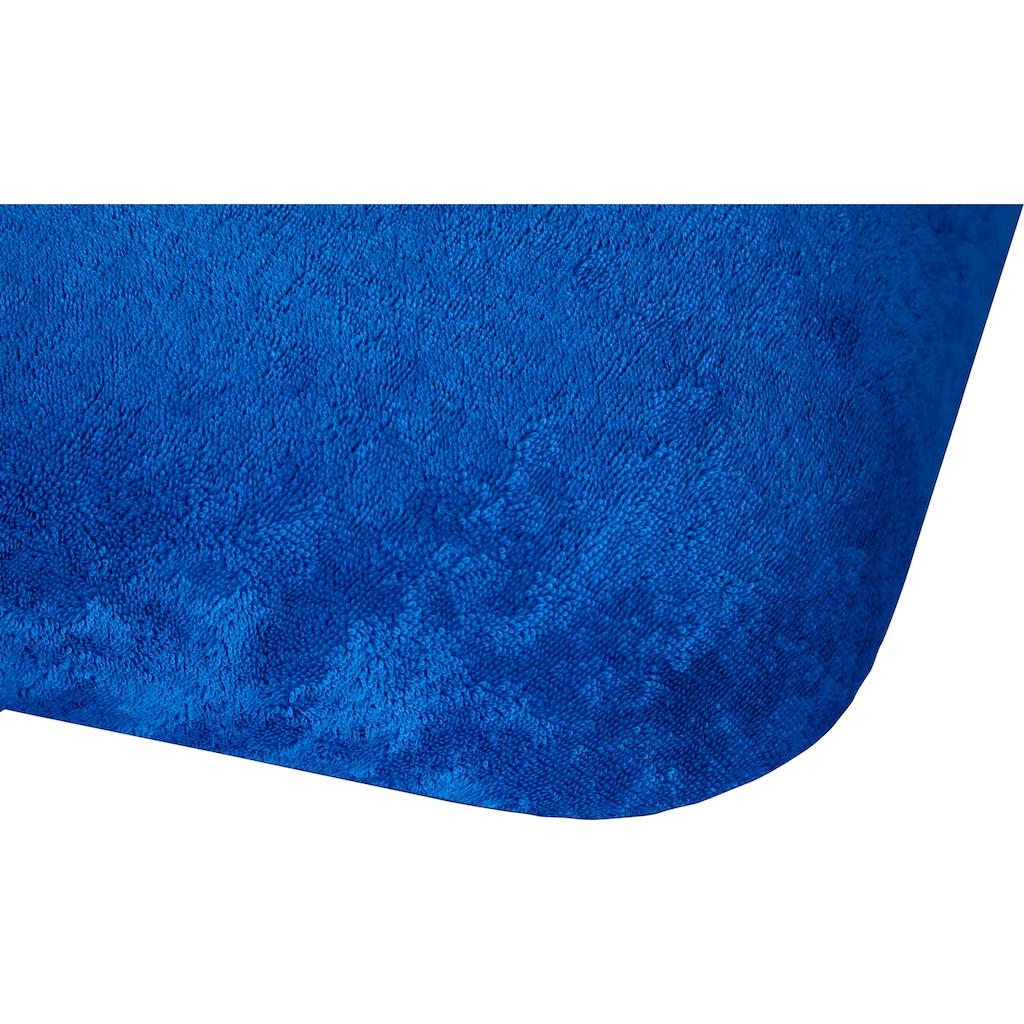 Kneer Massageliegenbezug »Flausch-Frottee«, flauschig weich