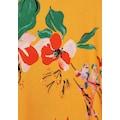 Cecil Blusenshirt, aus Materialmix mit Blumenmuster