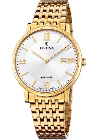 Festina Schweizer Uhr »Festina Swiss Made, F20020/1« kaufen
