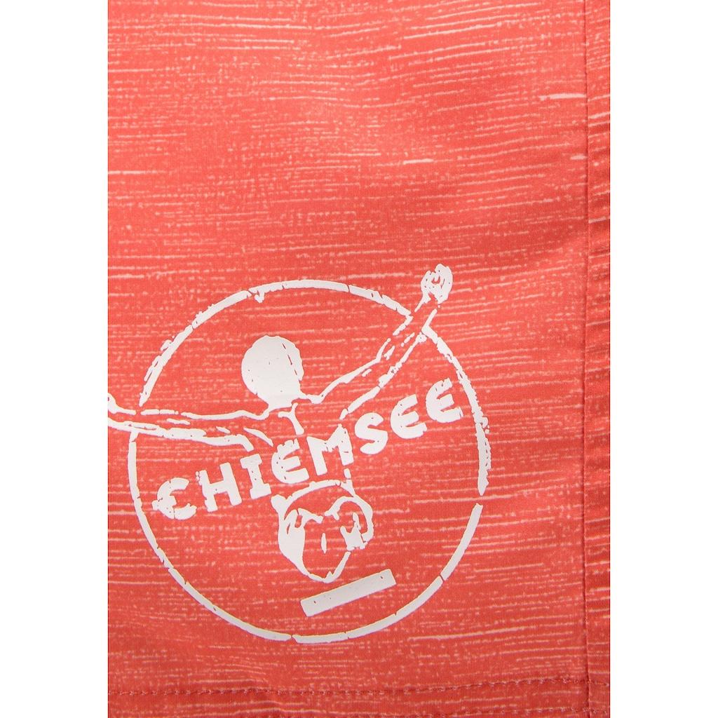 Chiemsee Badeshorts, mit Logoprint