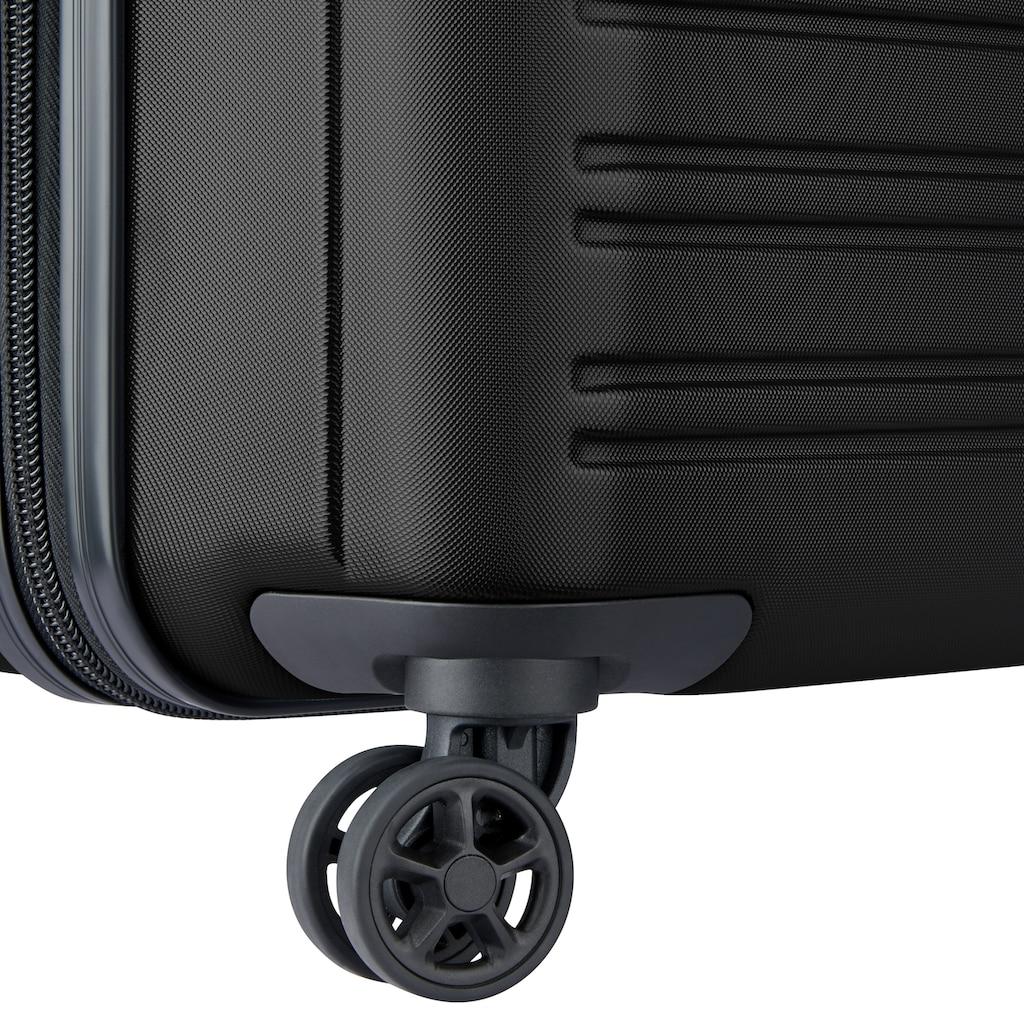 Delsey Hartschalen-Trolley »Segur, 70 cm, black«, 4 Rollen