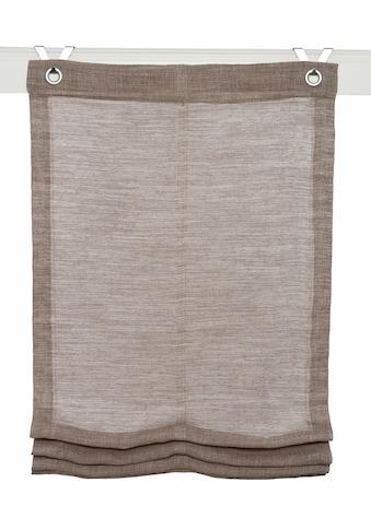 Kutti Raffrollo »Skagen«, mit Hakenaufhängung, ohne Bohren kaufen