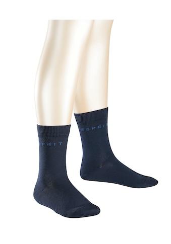 Esprit Socken Foot Logo 2 - Pack (2 Paar) kaufen