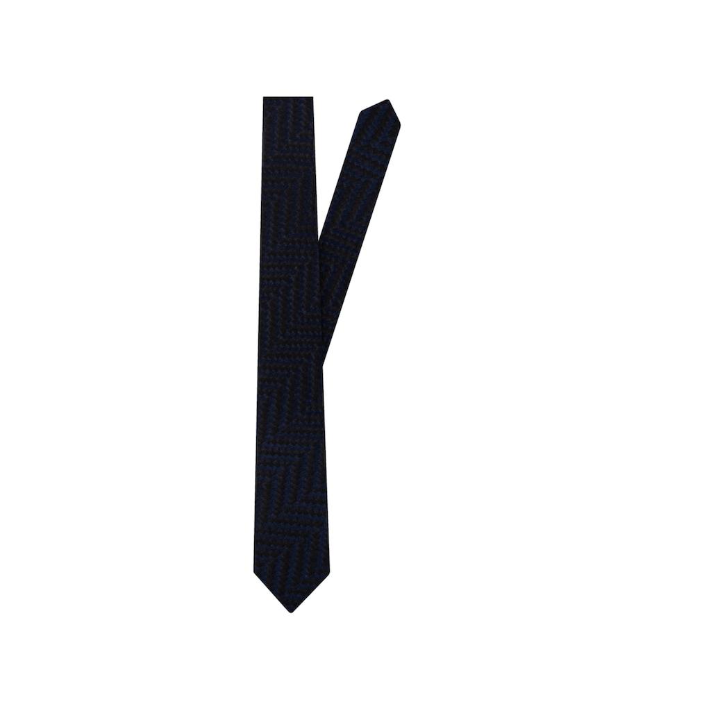 seidensticker Krawatte »Slim«, Schmal (5cm) Fischgrat