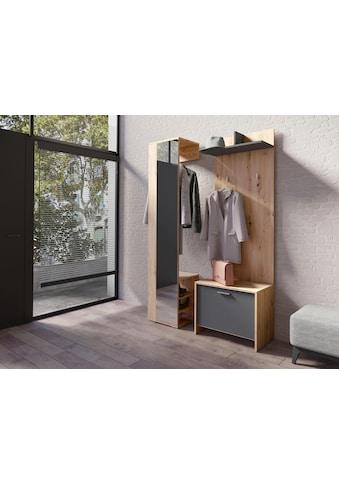 Homexperts Garderobenschrank »Benno«, mit Spiegel kaufen