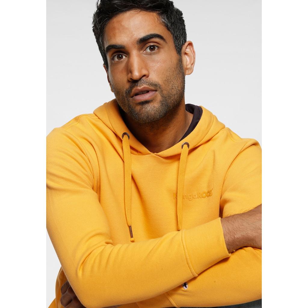 KangaROOS Kapuzensweatshirt, unifarben