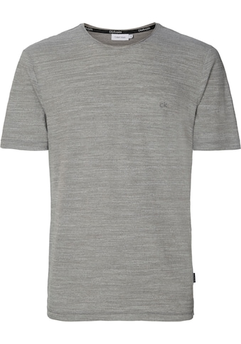 Calvin Klein T - Shirt »HEATHER CK EMBROIDERY T - SHIRT« kaufen