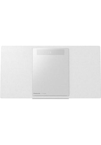 Panasonic Microanlage »SC-HC2040 Weiss«, (CD-Bluetooth-WLAN Digitalradio (DAB+)-FM-Tuner) kaufen