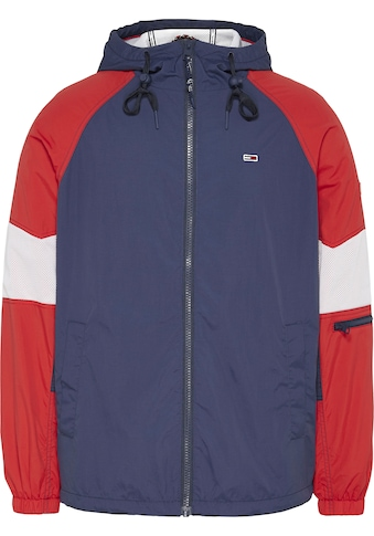 Tommy Jeans Windbreaker »TJM MIX FABRIC ZIPTHROUGH« kaufen