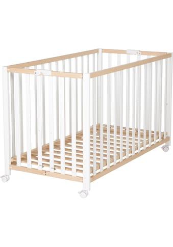 Roba® Babybett, »Fold Up, bicolor« kaufen