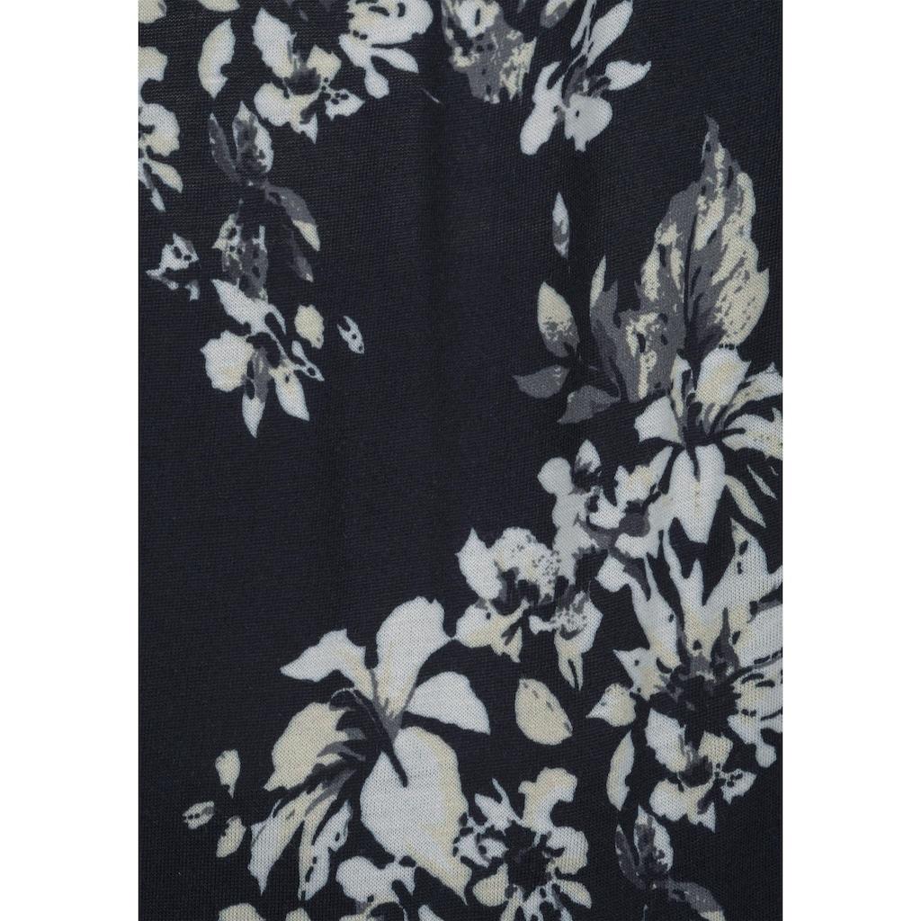LASCANA Bandeauoverall, mit floralem Druck