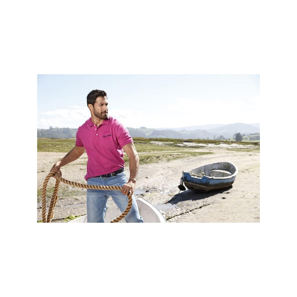 Jan Vanderstorm Poloshirt »UKKO«, Seitenschlitze und Komfortschnitt