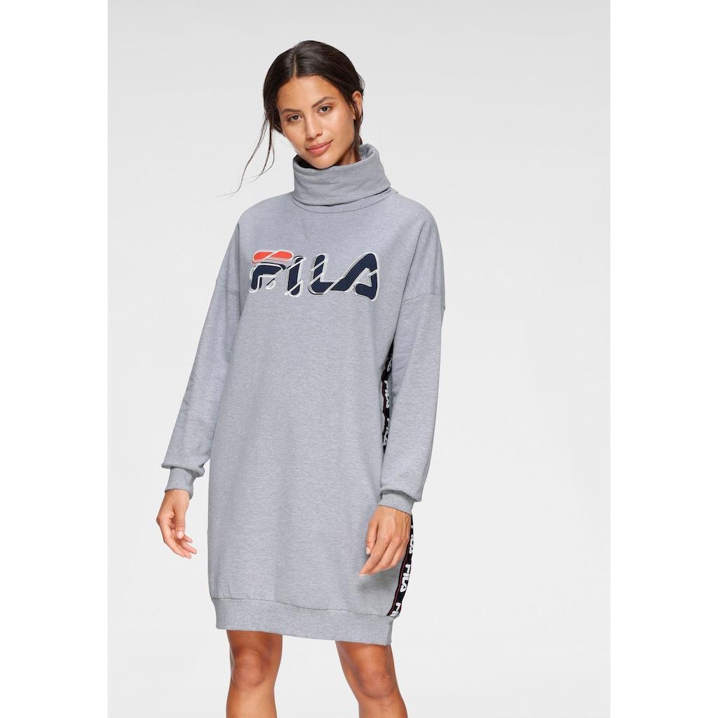 Fila Sweatkleid, mit Rollkragen und grossem Frontdruck
