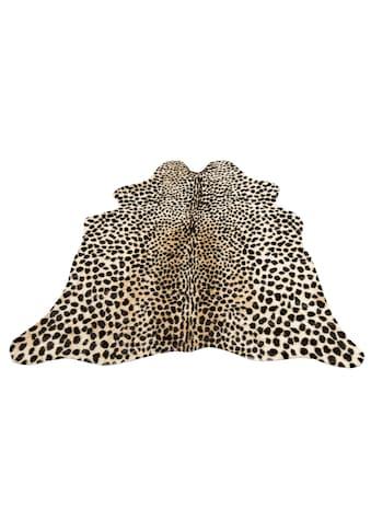my home Fellteppich »Leopard look«, fellförmig, 8 mm Höhe, Kunstfell, Leoparden-Optik,... kaufen
