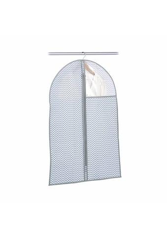 Zeller Present Kleiderschutzhülle, Vlies, weiss/grau kaufen