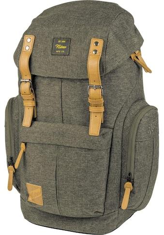 NITRO Freizeitrucksack »Daypacker, Burnt Olive«, mit Laptopfach kaufen