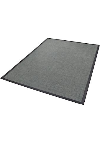 Dekowe Sisalteppich »Mara S2 mit Bordüre, Wunschmass«, rechteckig, 5 mm Höhe, Flachgewebe, Obermaterial: 100% Sisal, Wohnzimmer kaufen