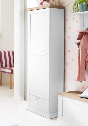 Home affaire Garderobenschrank »Binz«, mit einer schönen Holzoptik, mit vielen Stauraummöglichkeiten, Höhe 180 cm kaufen