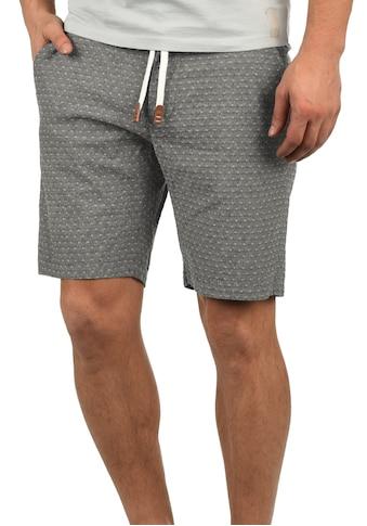 Blend Chinoshorts »Serge«, (mit abnehmbarem Gürtel), kurze Hose mit Muster kaufen