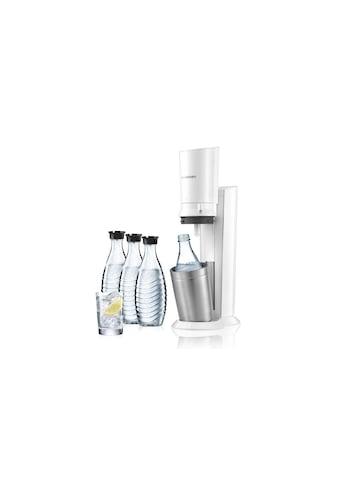 SodaStream Wassersprudler »CRYSTAL Megapack Weiss«, (Set, 5 tlg., 60 Liter... kaufen