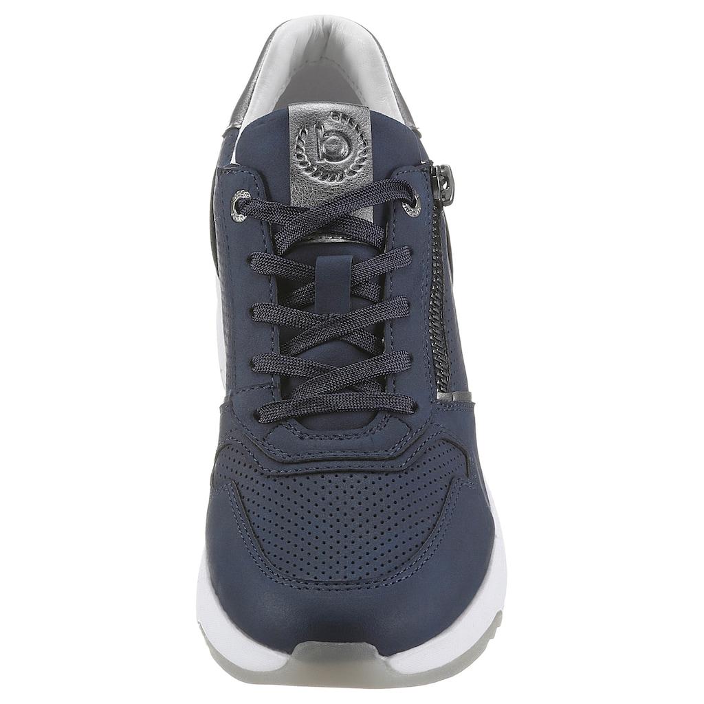 bugatti Wedgesneaker »RISE«, mit Kontrastbesatz
