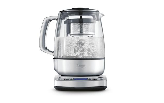 Tee und Wasserkocher mit programmierbarer Temperaturregelung, Glas-/Edelstahlgehäuse