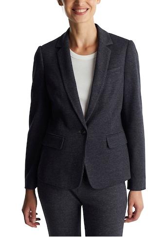 Esprit Kurzblazer, modern im Hahnentritt-Muster kaufen