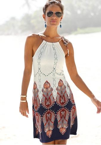 Beachtime Strandkleid, mit geflochtenen Trägern kaufen