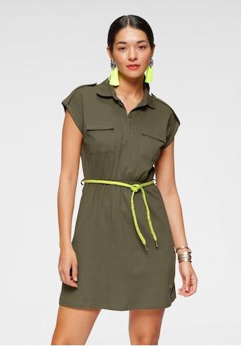 AJC Jerseykleid, im Utility-Stil mit Bindegürtel kaufen