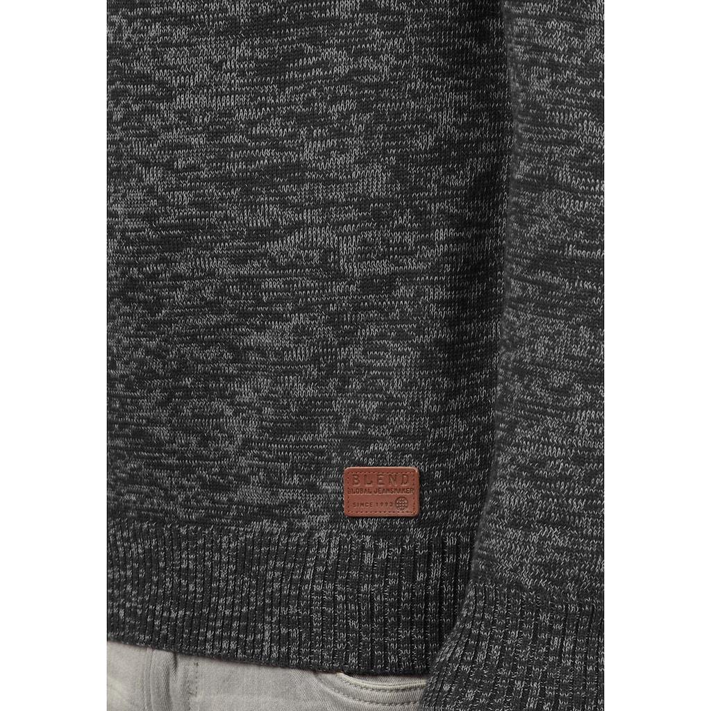 Blend Cardigan »Daniri«, Strickjacke mit hochabschliessendem Kragen