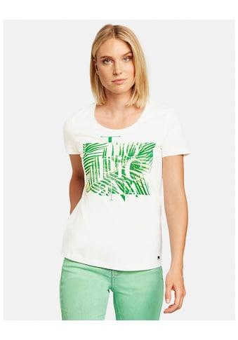 Taifun T - Shirt Kurzarm Rundhals »T - Shirt aus Bio - Baumwolle« kaufen