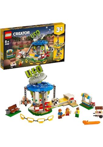 """LEGO® Konstruktionsspielsteine """"Jahrmarktkarussell (31095), LEGO® Creator"""", Kunststoff, (595 - tlg.) kaufen"""