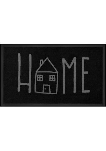 HANSE Home Fussmatte »Easy Home«, rechteckig, 5 mm Höhe, Schmutzfangmatte, mit Spruch,... kaufen